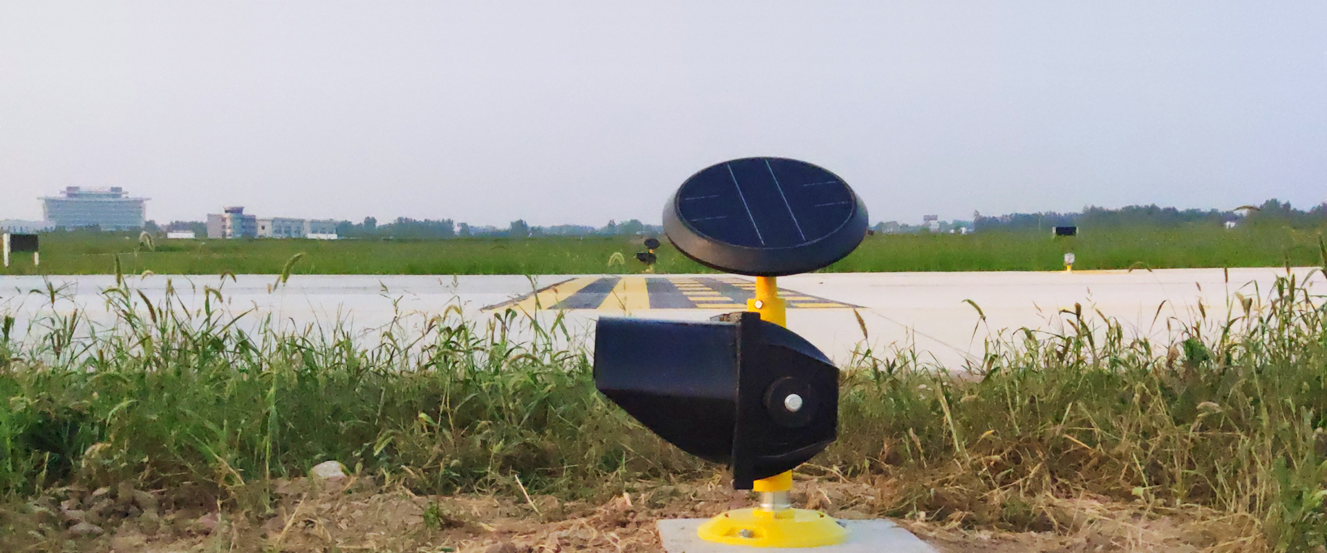 Solar Airfield lighting system