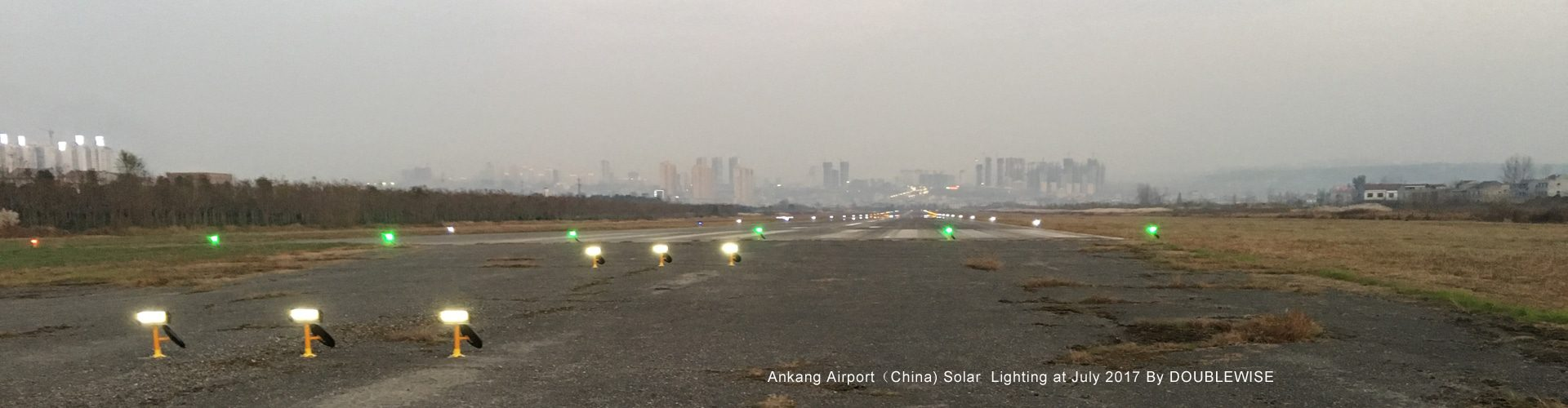 Ankang Airport Lighting at July 2017 By DOUBLEWISE