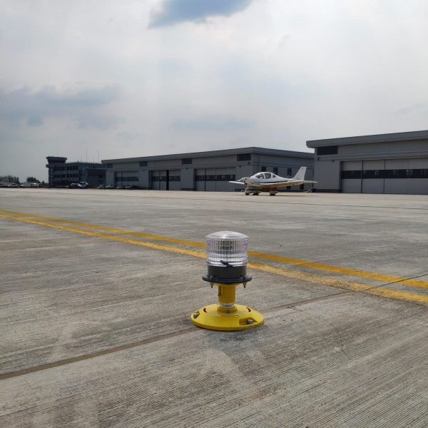 Airfield light from Zhoukou Xihua Airport